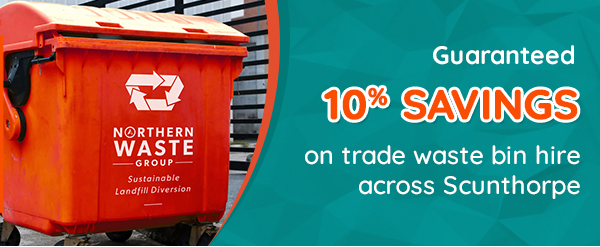10% off Trade Waste Scunthorpe